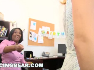 DANCINGBEAR – CFNM Office Party Cock Blowout (db9442)