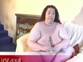 BBW Inessa – fattest girl from germany