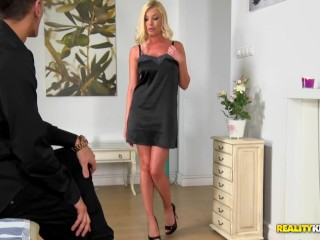 Donna Bell Excites a Huge Cock