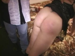 Phat tits little blonde fucked by guests at orgy