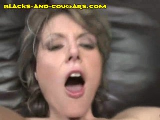 IR Anal Creampie for Cougar