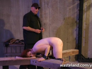 Session for slave girl before orgasms treats from her Master
