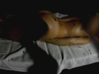 Amateur wife fucked In the sauna
