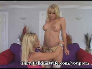 MILF And Coed Share Pussy Juices