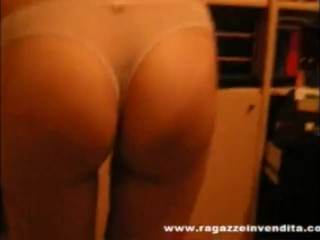 Ass in webcam