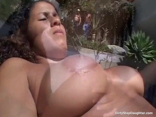 My Exotic Dirty Stepdaughter Fucks Two Strangers