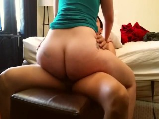 Hard cock riding and fucking