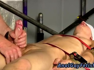Hairy jewish boy dick gay tumblr Reece is blindfolded and corded down,